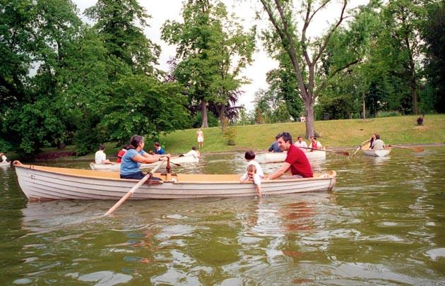 Une ballade en barque