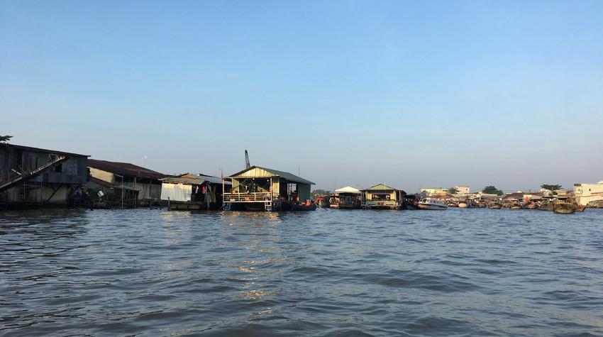 Excursion au marché flottant de Can Tho