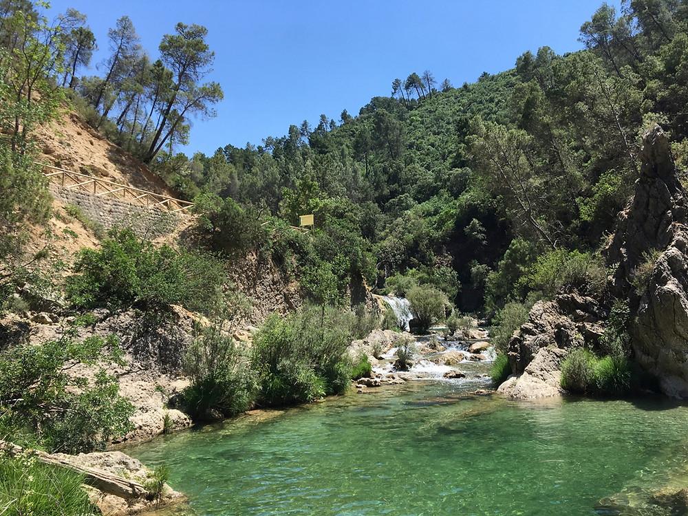 Baignaide à la rivière Borosa