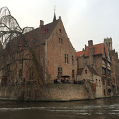 Bruges en bateau