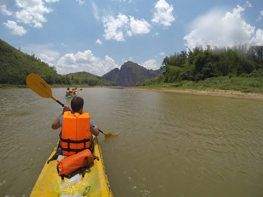 Le Laos en kayak
