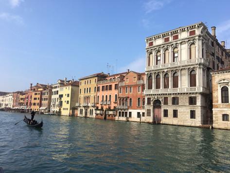 Noël à Venise en gondole