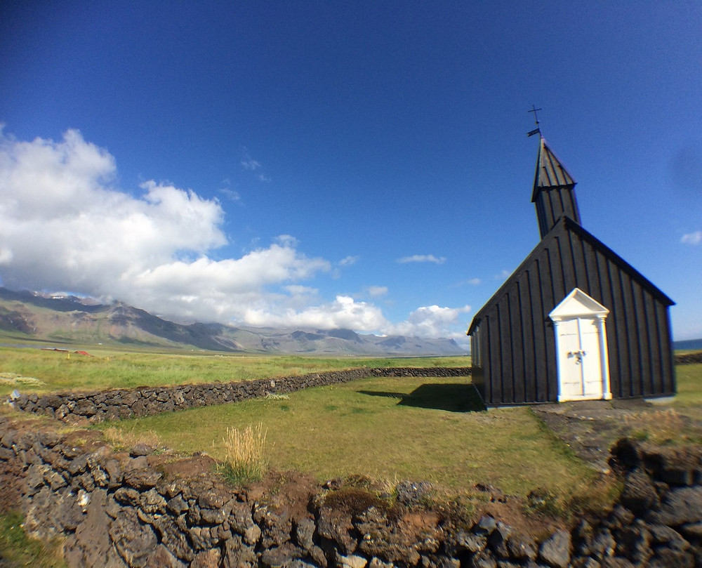Une photo prise avec le grand angle Pixter en Islande