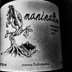 Maninalto 2015 Sicily edition label