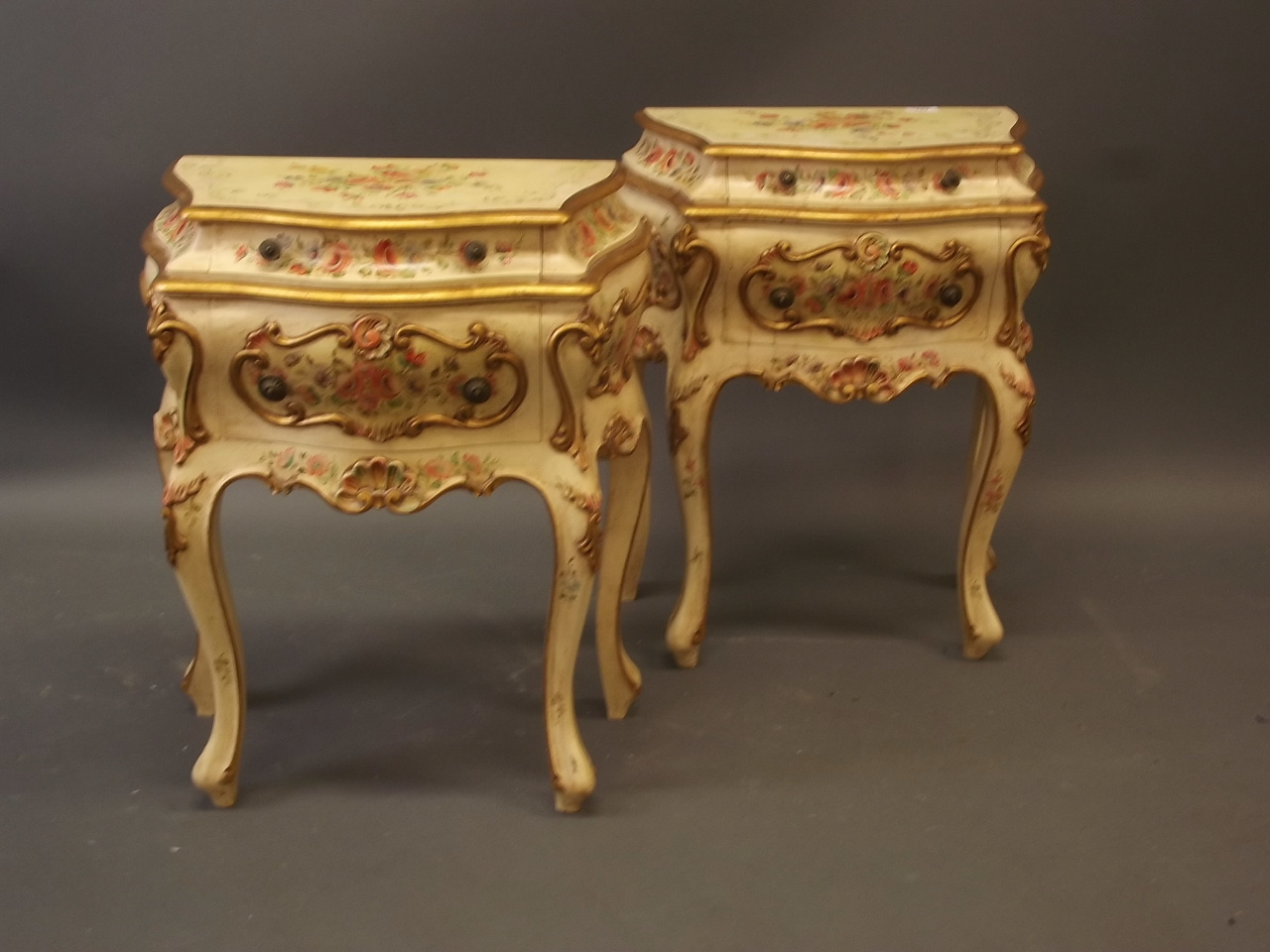 A Pair of Italian Bedside Chests