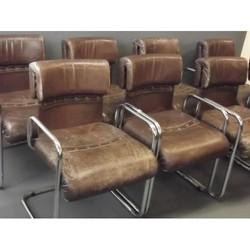 Set of Eight Guido Faleschini Chairs