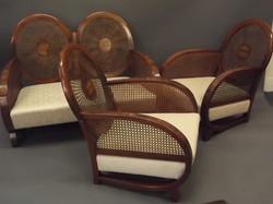 An Art Deco Bergere Suite