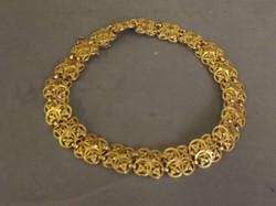 Hallmarked French 18ct Gold Choker