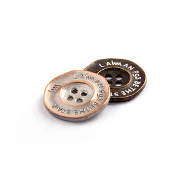 Metal Sew on Button