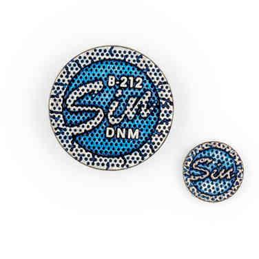 Metal button & rivet 4