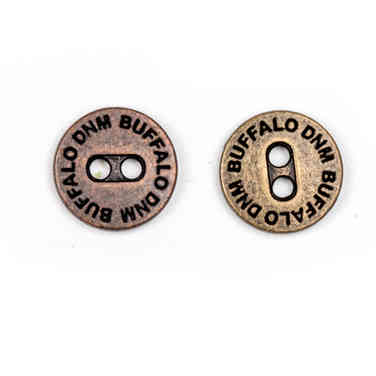 Metal Sew on Button 2