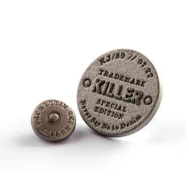 Killer Jeans button & rivet