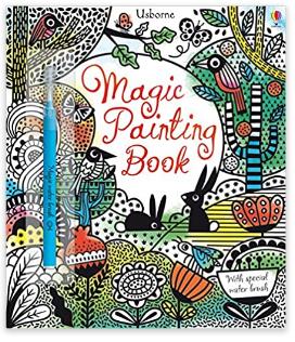 Magic painting book (Usborne)