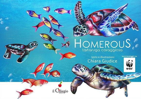 Homerous. Tartaruga coraggiosa (Il Ciliegio)