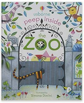 Peep Inside The Zoo (Usborne)