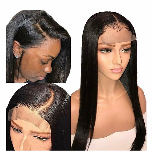 Straight 5x5 closure wig