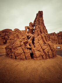 Sand Skulptur Festival à Sondervig