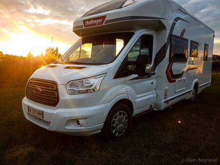 Destination la Gironde en camping-car