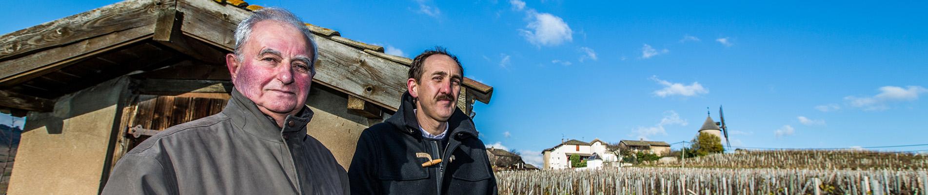 Photo reportage vignerons
