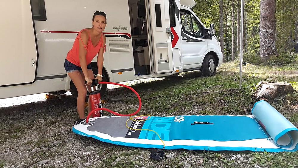 Destination camping-car, paddle en Slovénie avec Red Paddle