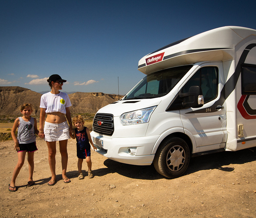Balade dans le désert de Tabernas en camping-car