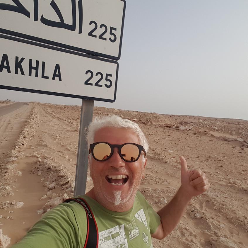 Dakhla n'est plus qu'à 225 km, on y est presque... enfin il faut y croire !