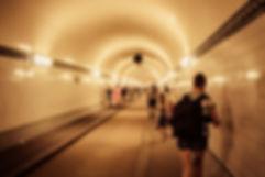 Le tunnel sous l'be à Habourg