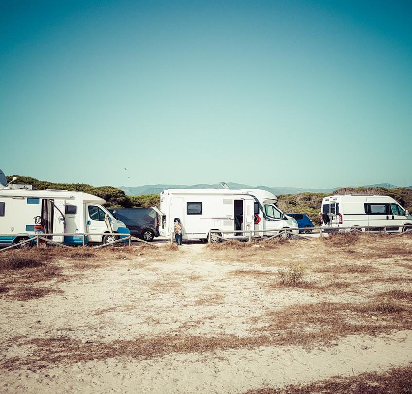 Pour aller faire du kitesurf, c'est ici que ça se passe quand on est en camping-car