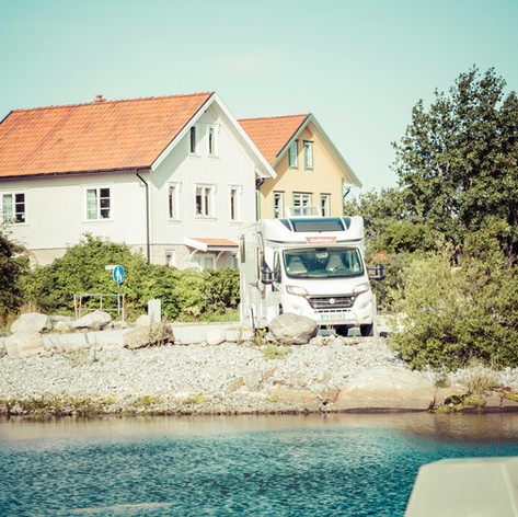 Stocken, petit village Suédois