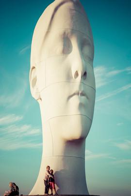 Sculptures géantes de Pilane