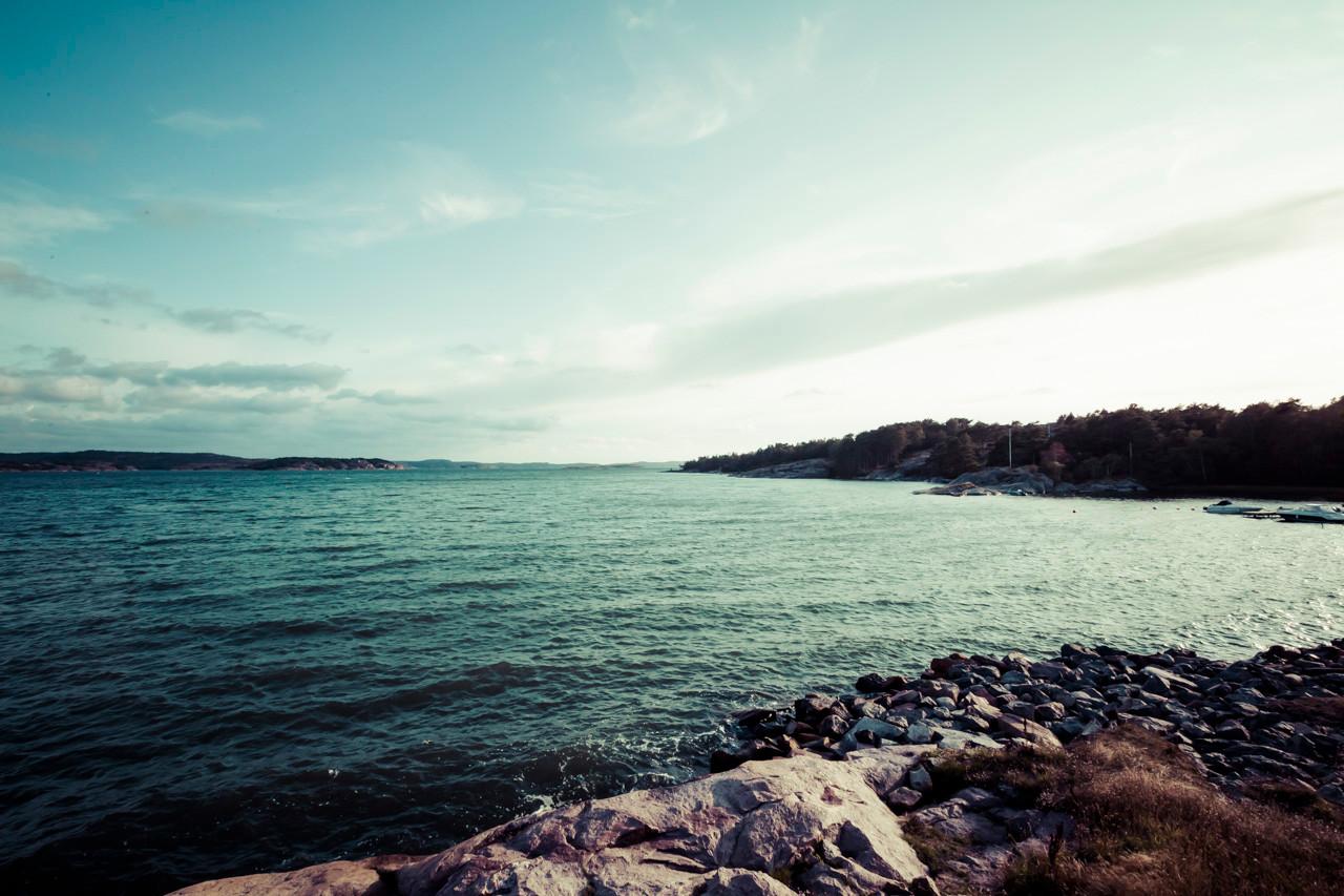 Petite baie en Suède