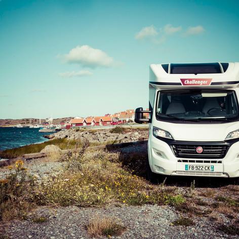 Stocken en Camping-car