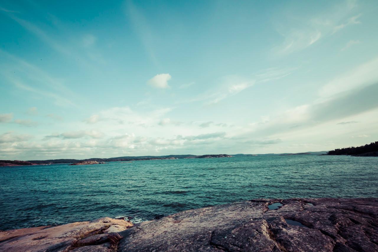 La mer du Nord et ses fjords