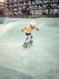 Tim au skatepark