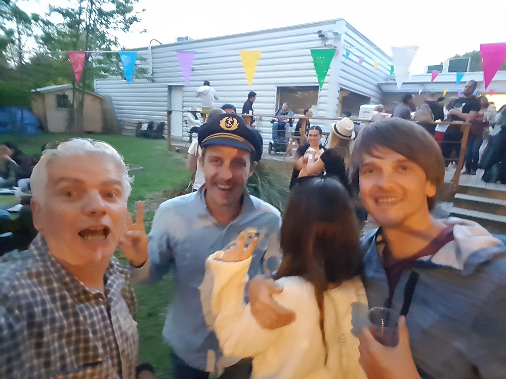 Avec Capitaine Remi et Mauran