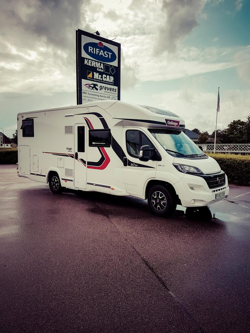 Destination camping-car en Suède : Pilane