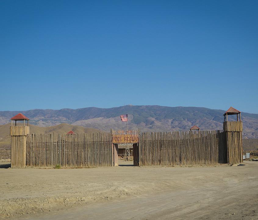 Reconstitution du Fort Bravo