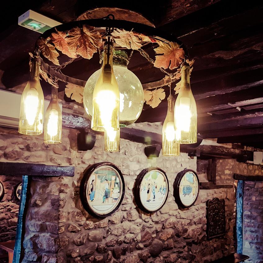 Déco de la cave de Clochemerle