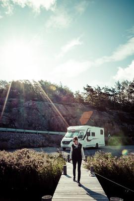 Destination camping-car à Fjallbacka - Suède