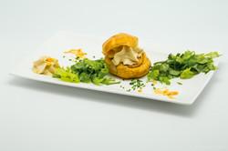 Gougère mousse de foie gras