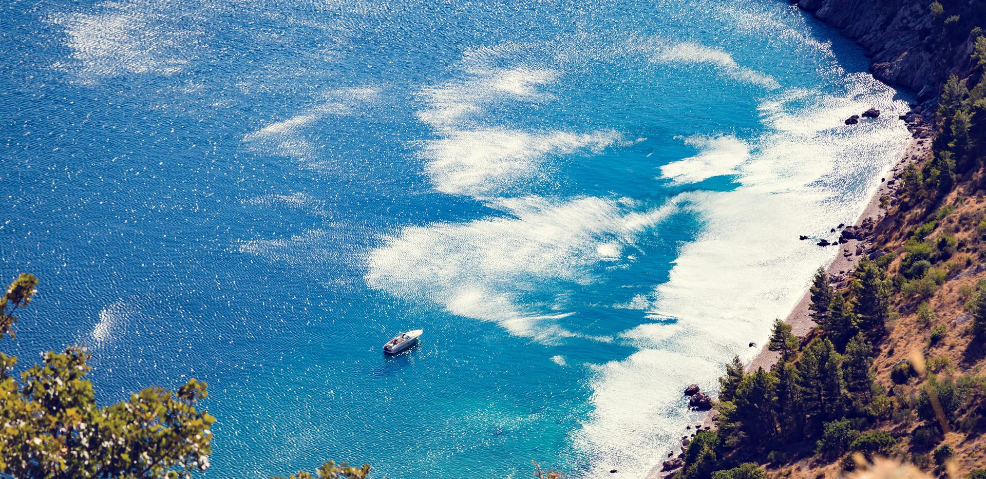 Les côtes de l'Adriatique
