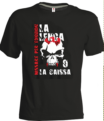 "T-shirt ""lenga o la caissa"""