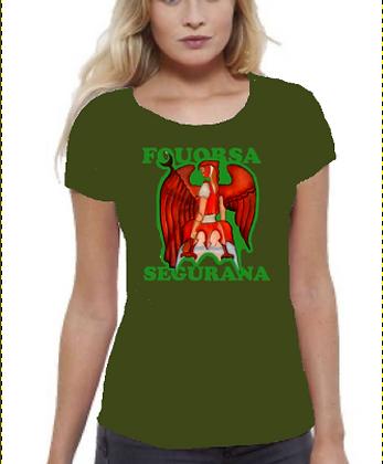 "Tshirt ""fouorsa Segurana"""