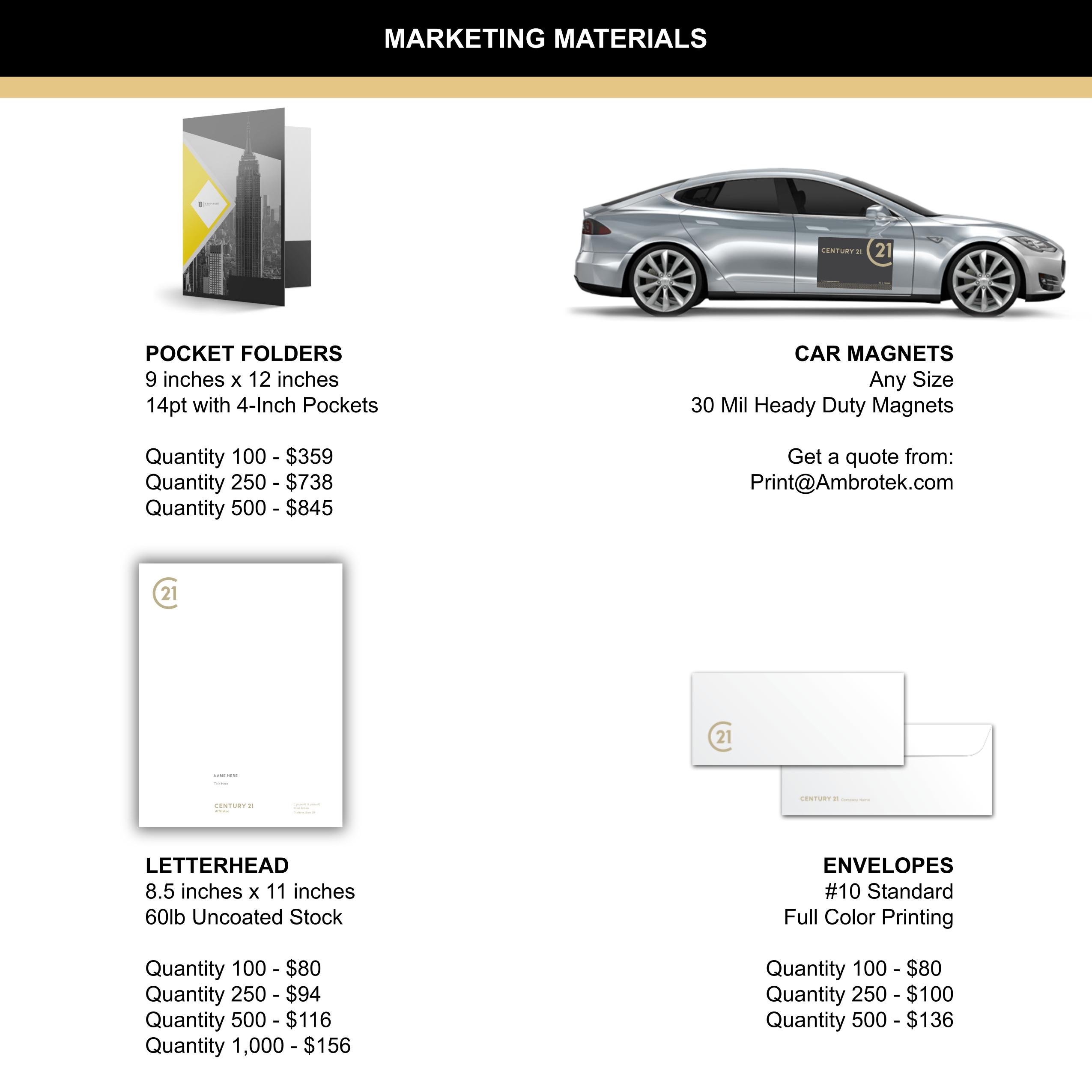 Marketing Materials Pg1
