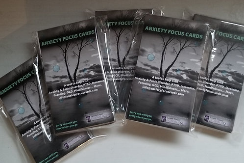 Anxiety Focus Cards