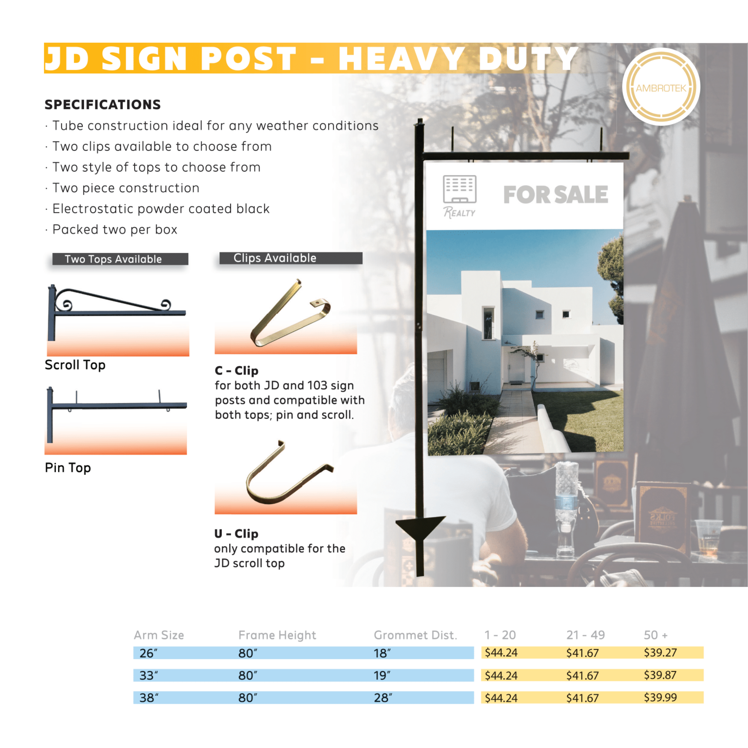 JD Sign Posts
