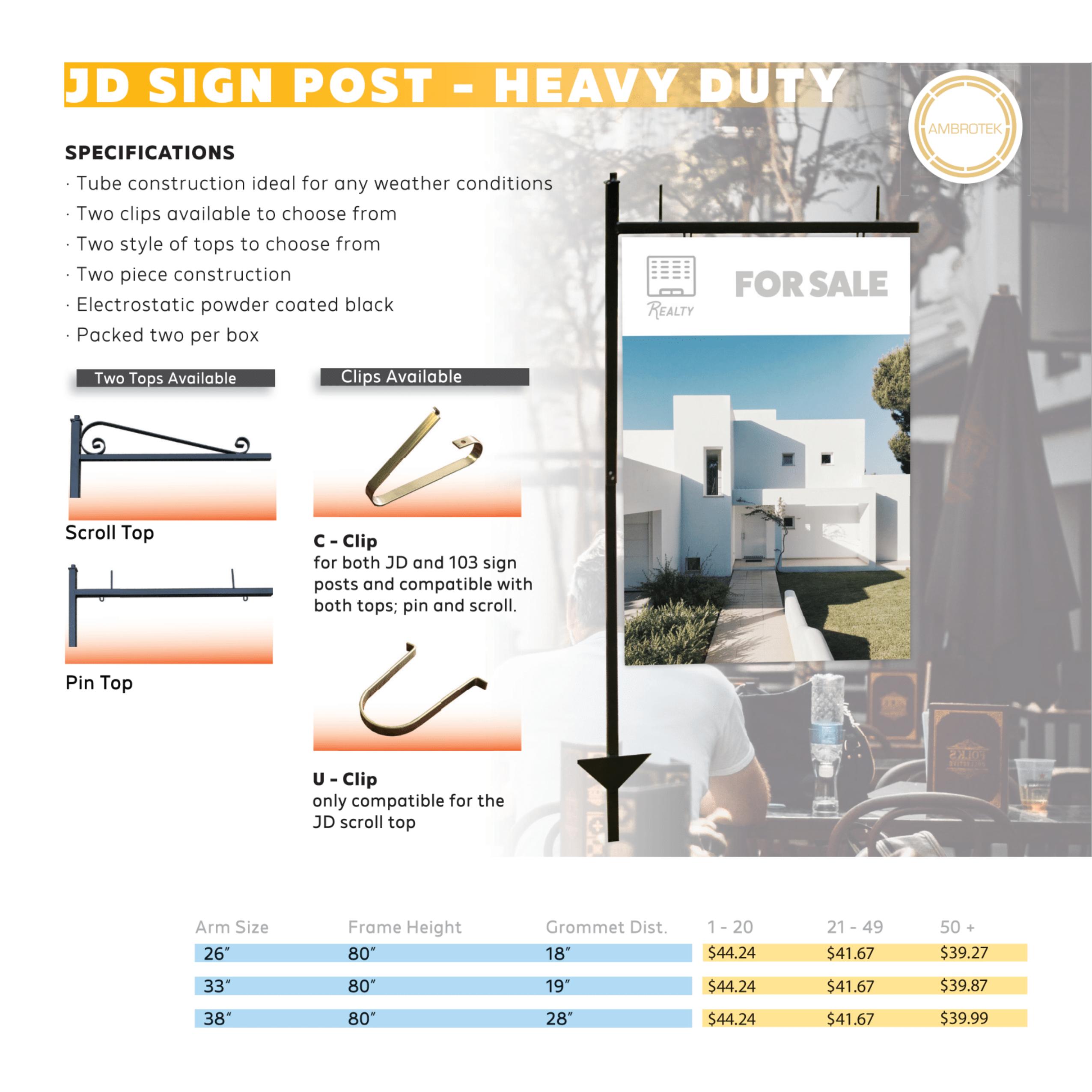 JD Sign Posts