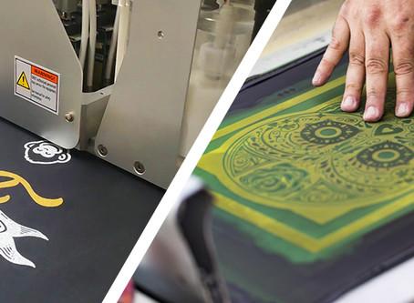 Direct to Garment VS Silk Screening