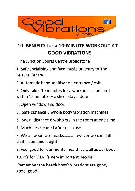 10 benefits for a 10 minute workout-page