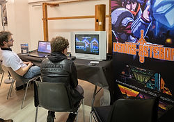Indie Game Lyon stand